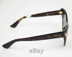 $490 Gucci Sunglasses Gg 3806/s 086ha Cat Eye Tortoise Mother Of Pearl Famous