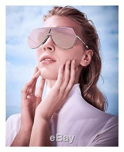 ca2623820f Auth New Fendi Ff 0193 s Rose Gold Sunglasses Shield Eyeliner