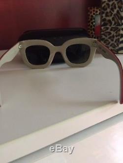 Authentic CELINE CL 41091/S Women's Black Sunglasses with Gucci Case