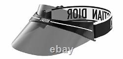 Authentic Christian Dior Club 1 Visor 0H3 Black White Sunglasses