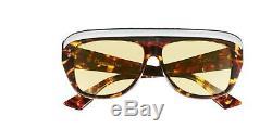 Authentic Christian Dior DIOR CLUB 2 086/HO Havana White Sunglasses