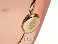Authentic DIOR Womens Sunglasses So Light 2 Square Nude Peach Pink Oversized