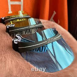 Authentic Dior Club1 Sun Visor Blue, Gray Fast US Shipping