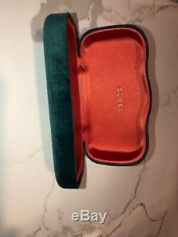 Authentic Gucci GG0083S 001 54mm Oversized Square Black Women Sunglasses New