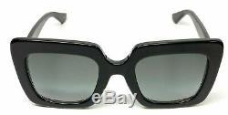 Authentic Gucci GG 0328 S 001 Black Gradient Sunglasses