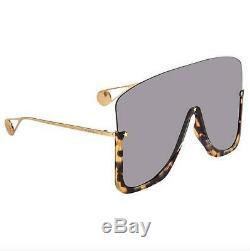 Authentic Gucci GG 0540S 002 Havana/Grey Sunglasses