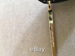 Authentic New Fendi FF M 0039 Shield Sunglasses Black Zucca Gold Logo
