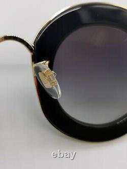 Authentic New Gucci GG0113S 001 Sunglasses L'Aveugle Par Amour Black