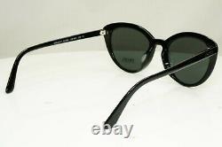 Authentic PRADA SS20 Womens Sunglasses Black Ultravox Evolution SPR 23S 1AB-5S0