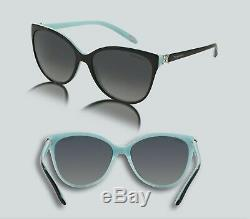 Authentic Tiffany & Co. 0TF4089B 8055T3 BLACK/BLUE Polarized Sunglasses