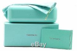 Authentic Tiffany & Co. 0TF4122 82153B BROWN HAVANA SPOTTED OPAL BLUE Sunglasses