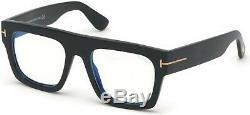 Authentic Tom Ford FT 5634 B 001 Shiny Black Eyeglasses