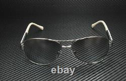 BURBERRY BE3080 10056V Silver Light Grey Mirror Grad 59 mm Women's Sunglasses