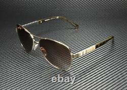 BURBERRY BE3080 114513 Light Gold Brown Gradient 59 mm Women's Sunglasses