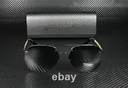 BURBERRY BE3099 100187 Black Grey 61 mm Women's Sunglasses