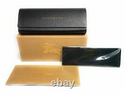 BURBERRY BE4160 34338G Black Grey Gradient 58 mm Rectangle Women's Sunglasses