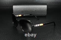 BURBERRY BE4197 30018G Black Gray Gradient 58 mm Women's Sunglasses