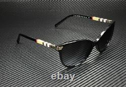 BURBERRY BE4216 30018G Black Gray Gradient 57 mm Women's Sunglasses