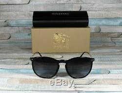 BURBERRY BE4250Q 30018G Black Gray Gradient 54 mm Men's Sunglasses