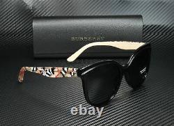 BURBERRY BE4270 372887 Black Grey 55 mm Women's Sunglasses