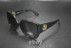 BURBERRY BE4290 300187 Black Grey 61 mm Women's Sunglasses