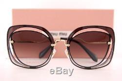 Brand New Miu Miu Sunglasses MU 54SS 1AB 0A7 Black/Grey Gradient For Women