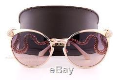 Brand New Roberto Cavalli Sunglasses RC 890S 28F Rose Gold/Brown For Women