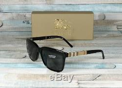 Burberry BE4181-300187 BLACK grey 58 mm Men's Sunglasses