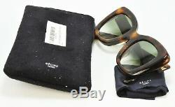 CELINE CL41439/F/S 05-XM Sunglasses Tortoise Frame Gray Lens 49-24-150 DEMO