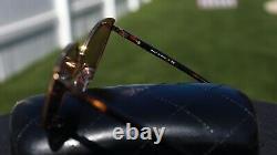 CHANEL 4222 Cat Eye Sunglasses c. 395/T6 Gold Frame 18-karat Mirror Lenses