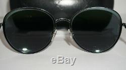 CHANEL Sunglasses New Dark Green Metallic Green Mirror 4206 C. 468/C0 55 18 140