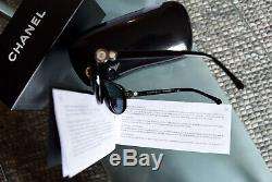 CHANEL sunglasses 5190 c5013F Womens COLLECTION BOUTON Black