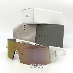 CHRISTIAN DIOR KALEIDIORSCOPIC 35J White / Pink Mirror 99mm Sunglasses