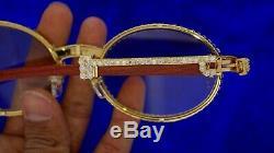 Cartier Sunglasses Custom 18 Ct Diamonds Celebrity Style Best Deal