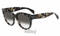 Céline Celine CL 41755/S AUDREY spotted havana/grey shaded (AVV/Z3) Sunglasses