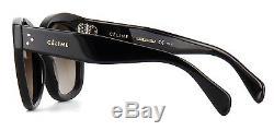dc2d43d7d6ff Céline Celine Cl 41805 s New Audrey Black brown Shaded (807 ha) Sunglasses