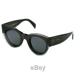 Celine Petra Black Grey Cat Eye Ladies Sunglasses CL41447/S