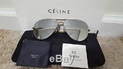 Celine Silver Mirror Lens CL41391/S J5GSS Sunglasses