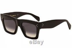 Celine Women's 41054S 41054/S 807W2 Black/Silver Sunglasses 50mm