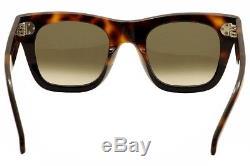 Celine Women's CL 41089S 41089/S AEA/Z3 Havana/Black Fashion Sunglasses 47mm