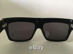 Celine ZZ Top CL41756 Women Sunglasses in Black 100% UV worn by Kim Kardashian