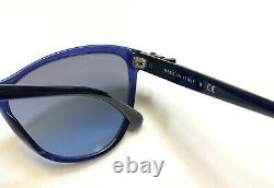 Chanel 5281Q 503/S2 Sunglasses Dark Crystal Blue withLeather Bow