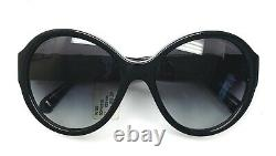 Chanel 5283Q 501/S6 Sunglasses Black with Leather Bow Silver CC Logo Display