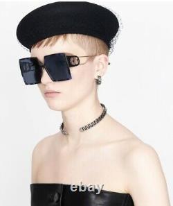 Christian Dior 30Montaigne JBWithA9 Blue Havana Gold Blue Lens Women Sunglasses