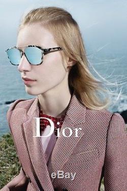 c30a7c50b3 Christian Dior Abstract Fog Havana light Blue Mirror (a4e a4) Sunglasses