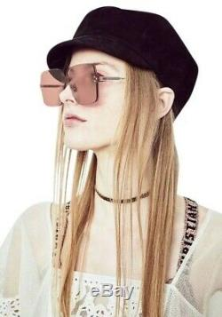 Christian Dior Color Quake 1 FWM VC Nude Gold Brown Women Sunglasses Authentic