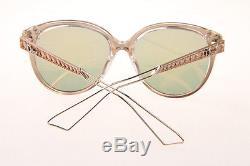 Christian Dior DIORAMA Gold Pink Mirror Sunglasses