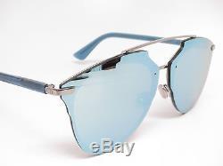 Christian Dior REFLECTED P PIXEL Ruthenium/Blue Pixel Mirror Sunglasses 100% UV