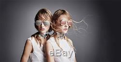 36cd0ae39636 Christian Dior Split 1 Gold gold Rose Gold Mirror Sunglasses Withgeometric  Case