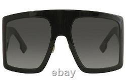 Christian Dior Women's Dior So Light1 8079O Black Sunglasses Gray Gradient 60mm
